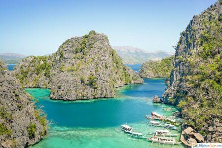 laguna azul isla de palawan