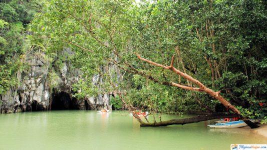 rio subterraneo en puerto princesa